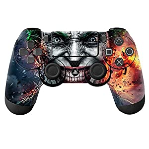 Joker FirSticker Decal Skin For Playstation 4 PS4 Controllers DualShock 4