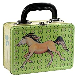 Horse Metal Lunch Box