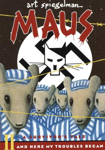 Maus II: A Survivor's Tale: And Here My Troubles Began (Turtleback School & Library Binding Edition) (Maus (PB))