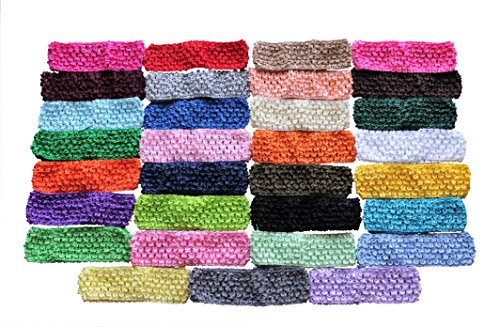 Crochet Headbands for Babies Toddlers Children 31 Headband Value Pack