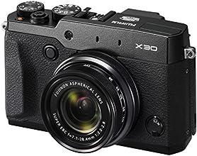 "Fujifilm X30 Fotocamera Digitale 12 MP, Sensore X-TRANS CMOS II 2/3"", Zoom 4X 28-112mm, f/2.0-2.8, Nero"