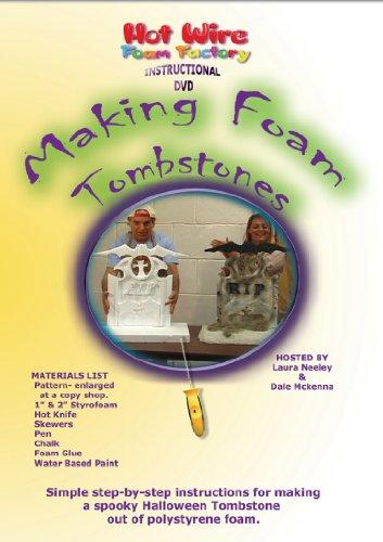 Hot Wire Foam Factory DVD of Making Foam Tombstones