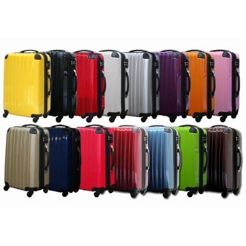 スーツケース 中型 moa-N6230 Mサイズ スーツケース ファスナータイプ TSAロック搭載 4輪 (銀)
