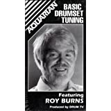 Basic Drumset Tuning VHS Video Tape ~ Roy Burns