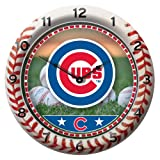 MLB Chicago Cubs Game Time Clock Amazon.com