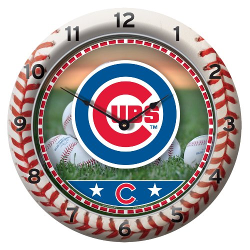 MLB Chicago Cubs Game Time Clock at Amazon.com