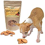 Hypoallergenic Dog Treats Made in USA, Grain Free, 100% All Natural Yummy Yipper Snappers Apple Carrot Gourmet Dog Treats, Biscuits Help Reduce Allergies and Cleans Teeth