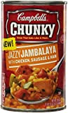 Campbell's Chunky Jambalaya Soup, 18.6 Ounce (Pack of 12)