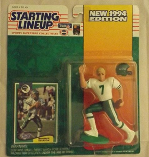 Starting Lineup Sports Super Star Collectible Figure - 1994 Edition - New York Jets Boomer Esiason