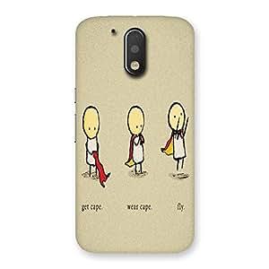 AJAYENTERPRISES Fuuny BK Cover Back Case Cover for Motorola Moto G4 Plus