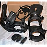 Snowboard Bindings size Large Snowjam 2012 model Black 9-14 size NEW by SnowJam