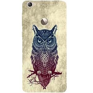 Casotec Owl Pattern Nature Design Hard Back Case Cover for LeTV Le 1s