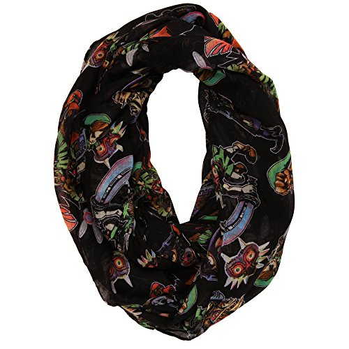 Legend of Zelda Majora's Mask Viscose Scarf