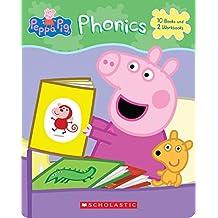페파피그 Peppa Pig Phonics Boxed Set 파닉스 북 페이퍼백 세트, 쇼콜라스틱