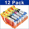 12-Pack Compatible Cartridges