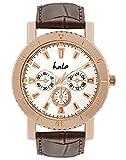 Hala HL_600 Chronograph Pattern Copper Watches Analog Watch - For Boys, Men