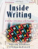 img - for Inside Writing: A Writer's Workbook with Readings, Form B book / textbook / text book