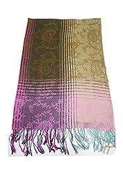 Maira Women's Pashmina Shawls & Stoles MultiColour