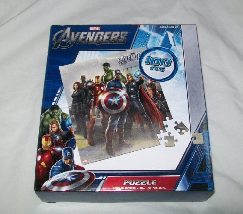 Avengers Puzzle - Standing Pose- Includes Nick Fury