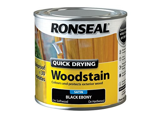 ronseal-qdwse250-250-ml-satin-finish-quick-dry-woodstain-ebony
