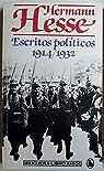 Escritos políticos 1914/1932