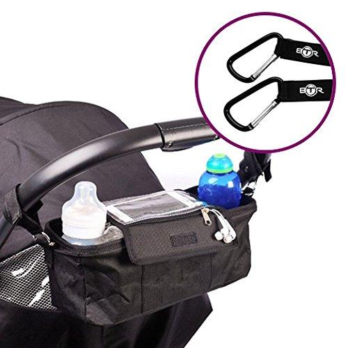 btr-kinderwagen-buggy-organiser-aufbewahrungstasche-mit-mobiltelefon-halter-regenschutz-und-2-kinder