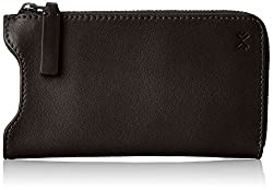 Skagen Lilli Iphone Multi Leather Sleeve Clutch, Black, One Size