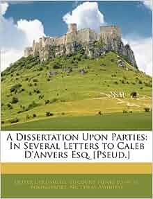 Bolingbroke dissertation on parties