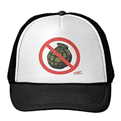 Jersey Shore: No Grenades Trucker Hat