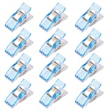 Imported 50Pcs Wonder Clips Quilters clips Sewing Clip Quilting Supplies Blue