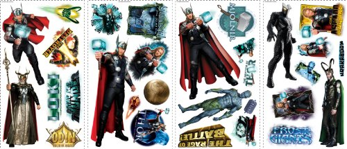RoomMates RMK1643SCS Thor Movie Peel & Stick Wall Decals - 1