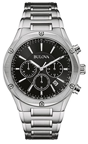 bulova-mens-quartz-watch-with-black-dial-chronograph-display-and-silver-stainless-steel-bracelet-96b