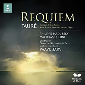 Faur� Requiem, Cantique de Jean Racine