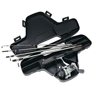 Daiwa Mini System Minispin Ultralight Spinning Reel And Rod Combo In Hard Carry Case by Daiwa