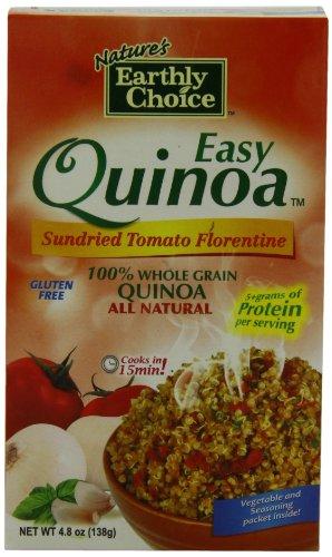 Nature's Earthly Choice Organic Easy Quinoa Sun Dried, Tomato Florentine, 4.8 Ounce