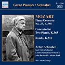 Mozart, W.A.: Piano Concerto No. 27 / Concerto For 2 Pianos In E Flat Major / Rondo In A Minor (Schnabel) (1934-1946)