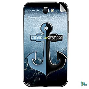 Swagmantra Sink Or Swim mobile skin for Samsung Galaxy Note 2