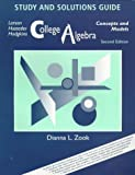 College Algebra: Concepts and Models (0669416320) by Larson, Roland E.