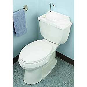 Toilet Lid Sink (Regular Model) Conserve Water by Gaiam
