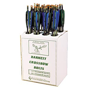 Barnett 20-Inch Headhunter Arrows (Bulk 48) by Barnett Crossbows
