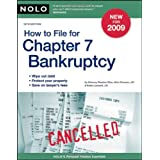 How to File for Chapter 7 Bankruptcy ~ Stephen Elias