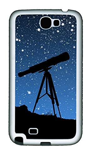 Samsung Galaxy Note Ii N7100 Case,Samsung Galaxy Note Ii N7100 Cases - Sky Telescope Custom Design Samsung Galaxy Note Ii N7100 Case Cover - Polycarbonate¨Cwhite