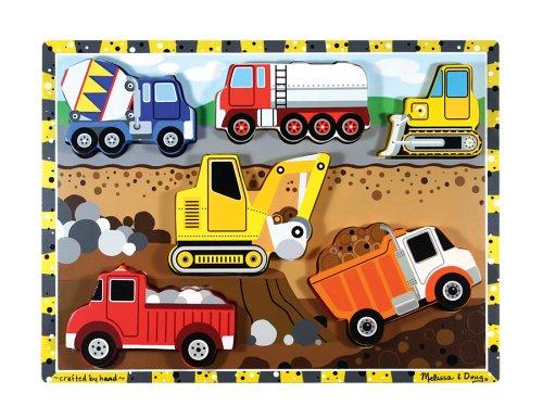Melissa & Doug Construction Wooden Chunky Puzzle - Buy Melissa & Doug Construction Wooden Chunky Puzzle - Purchase Melissa & Doug Construction Wooden Chunky Puzzle (Melissa & Doug, Toys & Games,Categories,Preschool,Pre-Kindergarten Toys,Puzzles)