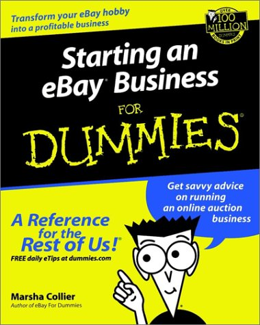 Image for Starting an eBay Business for Dummies