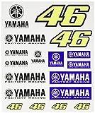 ヤマハ(YAMAHA) VR46 バレンティーノ ロッシ ステッカー 46BIG&ヤマハロゴ Q1G-YSK-241-000