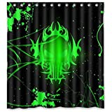 "60 ""x72"" Pink Floyd Shower Curtain Pink Floyd 60 ""x72"" Waterproof Fabric Shower Curtain for Bathroom 12 Free Hooks"