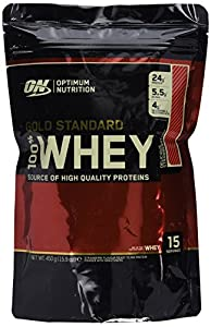 Optimum Nutrition Protéine 100% Whey Gold Standard Fraise 450 g