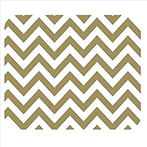Amazon.com : Custom classic Zig Zag Chevron pattern, brown and white
