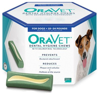 OraVet Dental Hygiene Chews 30 count Small