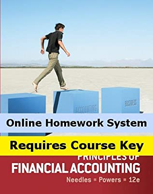 CengageNOW Online Homework System to Accompany Needles/Powers' Principles of Financial Accounting, 12th Edition, [Instant Access], 1 term (6 months)